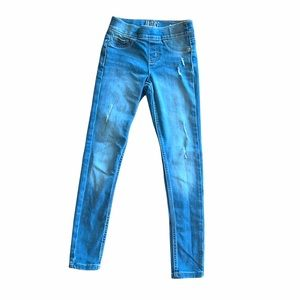 Justice Girls Mid Rise Jeggings